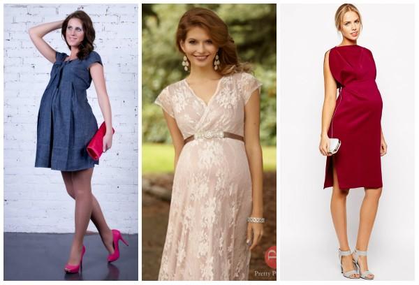 bb478ef7d17466 Вишукані святкові сукні для вагітних   Мода