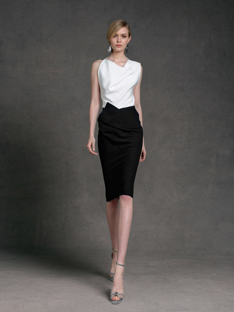 1940a9f2ed3182 Жіночий діловий і офісний стиль одягу, суворі літні сукні та костюми ...