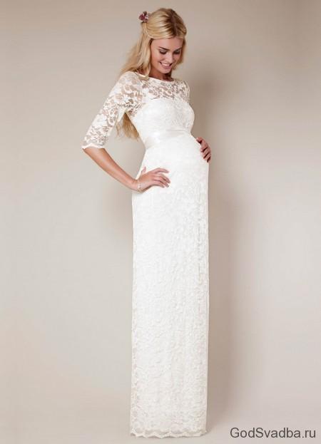 b21f2748ba3e54 Весільні сукні для вагітних: купити недорогі або напрокат? | Поради