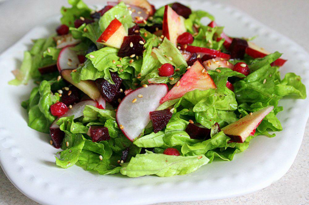 Овощные салаты для диет